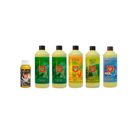 Kit COMPLETO ALTA PERFORMANCE 2x1L, 3X500ml, 1x250ml - House & Garden