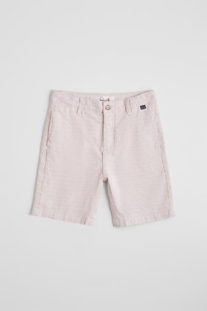 BERMUDA CASUAL MINI PF FT BRASA