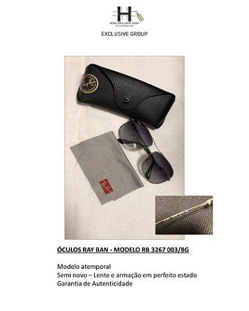 ÓCULOS RAY BAN - MODELO RB 3267 003/8G