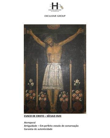 CUSCO DE CRISTO – SÉCULO XVIII