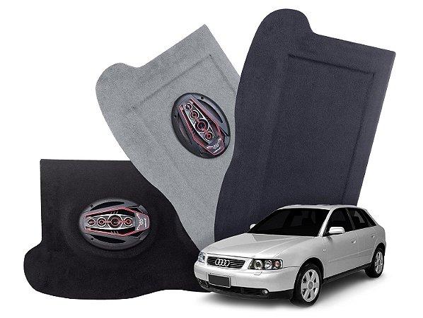 Tampão Bagagito Audi A3   Cinza Claro