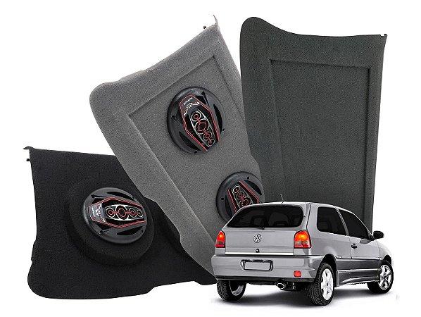 Tampão Bagagito VW Gol - G2 G3 - 1995 a 2005   Preto