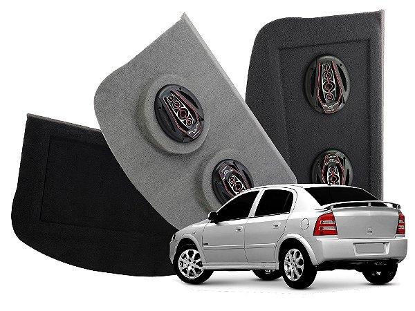 Tampão Bagagito GM Astra Hatch 1999 a 2011   Preto