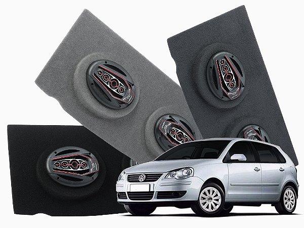 Tampão Bagagito Polo Hatch 2003 a 2014 | Cinza Escuro
