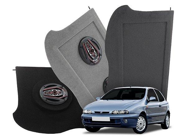 Tampão Bagagito Fiat Brava 1995 a 2003   Preto