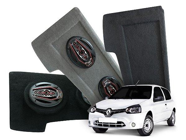 Tampão Bagagito Clio Hatch 2013 a 2016 | Preto