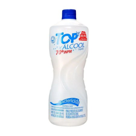 Álcool Líquido Bactericida 70 INPM Top 1L