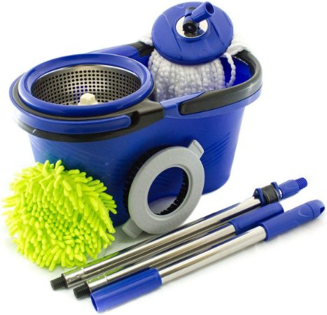Balde Perfect Mop Pro 360 Urban Inox