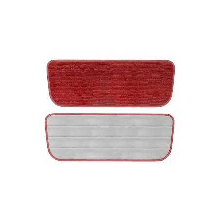 Refil Spray Mop Microfibra Universal Vermelho