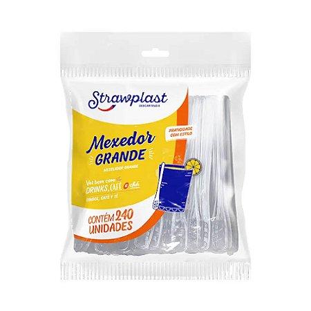 Mexedor Long Drink 11cm Strawplast 240un