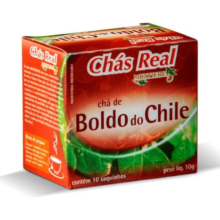 Chá Mate Real Boldo do Chile C/10