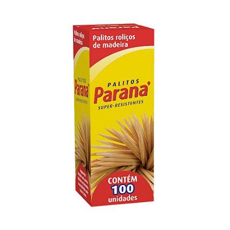 Palito de Madeira Paraná C/100