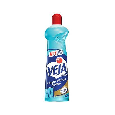 Limpa Vidros Veja Vidrex C/Álcool Squeeze 500ml