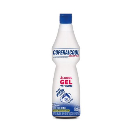 Álcool Gel Limpador Coperalcool 70º 500g