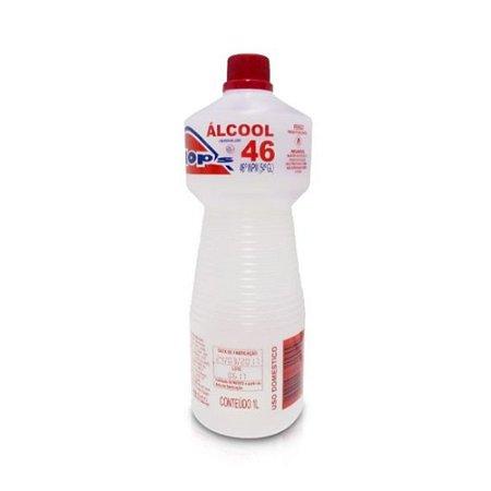 Álcool Líquido Flops 46º 1L