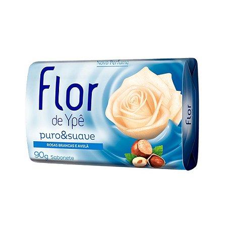 Sabonete em Barra Flor de Ype Rosas Brancas e Avelã 90g