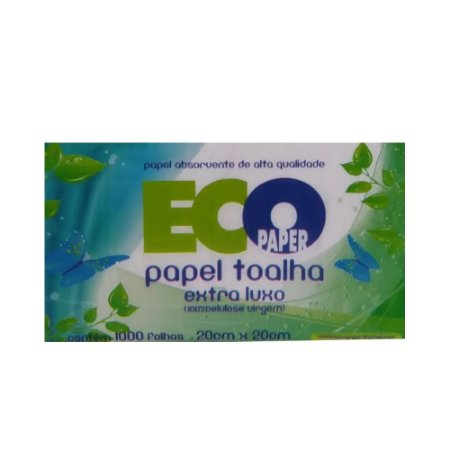 Interfolha Ecopaper 22X20cm 100% Celulose C/1000