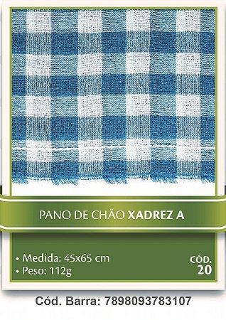 Pano de Chão Xadrez 48x76cm Dantex