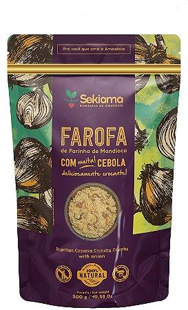 Farofa Tradicional De Cebola - Pct 300g.