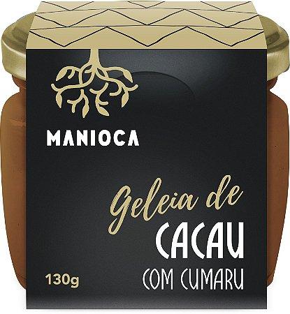 Geleia De Cacau Com Cumaru 130g Manioca - 100% Natural.