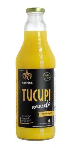 Tucupi Amarelo 1 L. 100% Natural. Sem Glúten E Vegano.