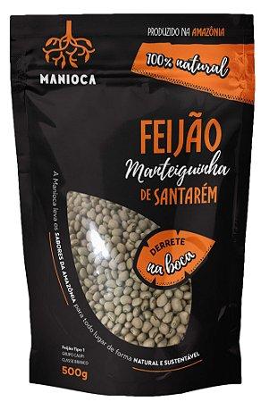 Feijão Manteiguinha De Santarém 500g, Sem Glúten, Vegano.