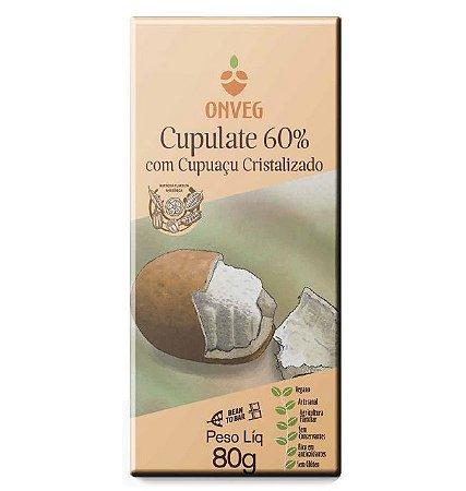 Cupulate 60% Com Cupuaçu Cristalizado - 80g