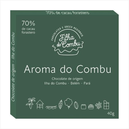 Chocolate 70% - Aroma do Combu - 40g
