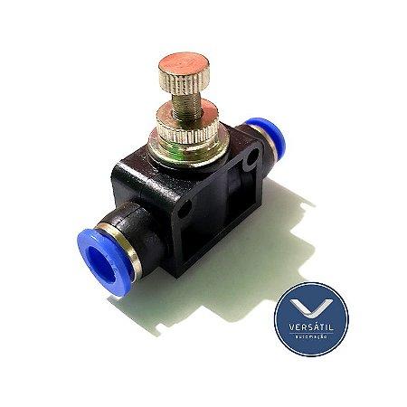Regulador de Fluxo para Tubo 8mm