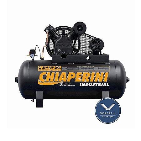 Compressor Ar 20+ APV RCH 200L C/MM 5HP 220/440V IP21 175 Libras - Chiaperini