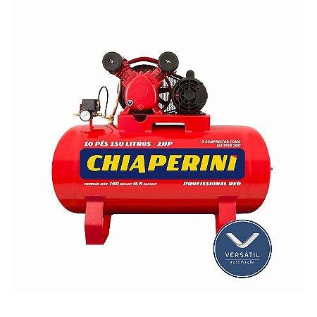 Compressor Ar 10/150 RED RCH 150L C/MM 2HP 110/220V IP21 140 LIBRAS - Chiaperini