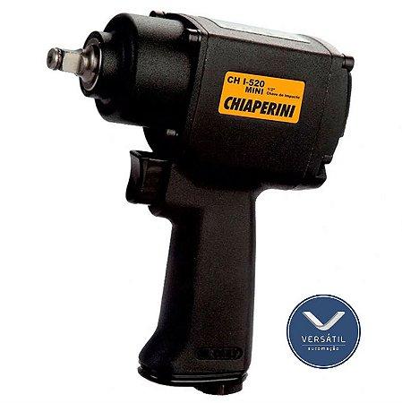 "Kit Chave De Impacto Pneumática 1/2"" Twin Hammer CH I-520 Mini 52Kgf - Chiaperini"
