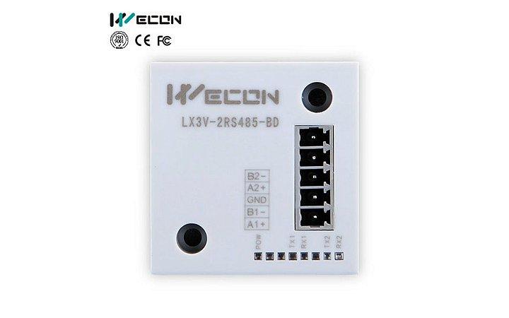MÓDULO WECON DE 2 RS485  LX3V-2RS485-BD