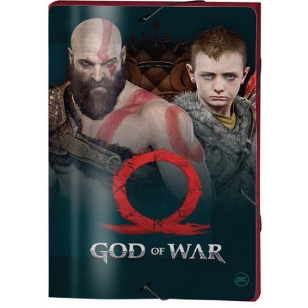 PASTA POLIPROPILENO GOD OF WAR 3CM 332mmX232mm DAC
