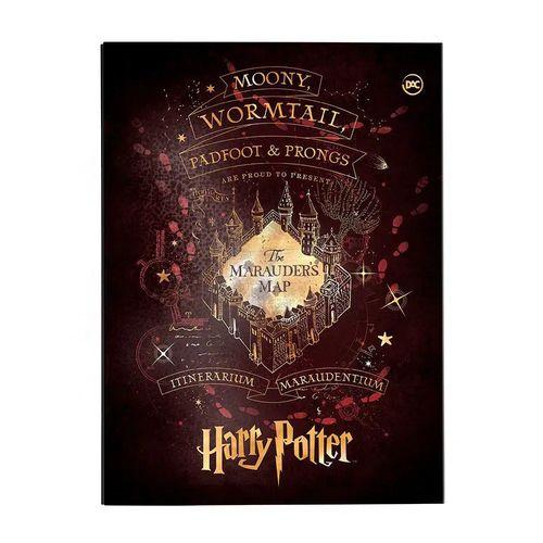 Pasta Catálogo Dac Harry Potter Sem Lombo Com 10 Envelopes Plásticos