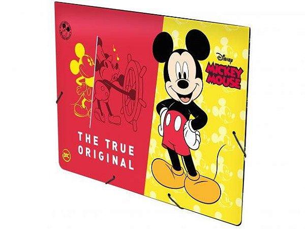Pasta com Aba 23,2x33,2cm DAC com Elástico - Mickey Mouse DAC 2592