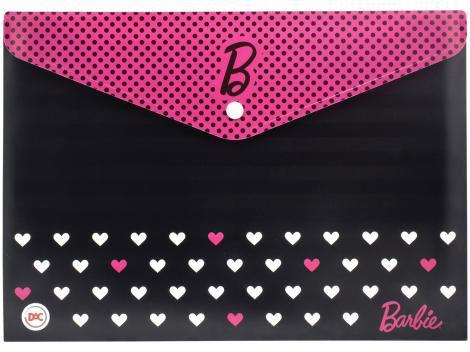 Pasta Malote A4 Barbie Teen DAC com Botão 332mmX237mm
