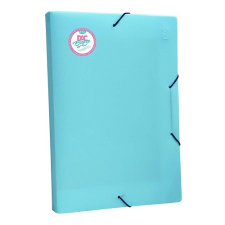 Pasta Aba Elástica Oficio 2cm Azul DAC Breeze 802PP 332MMx232MM
