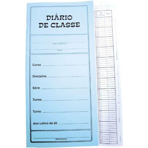 Diario De Classe Mensal  Brochura 12fls. Tamoio