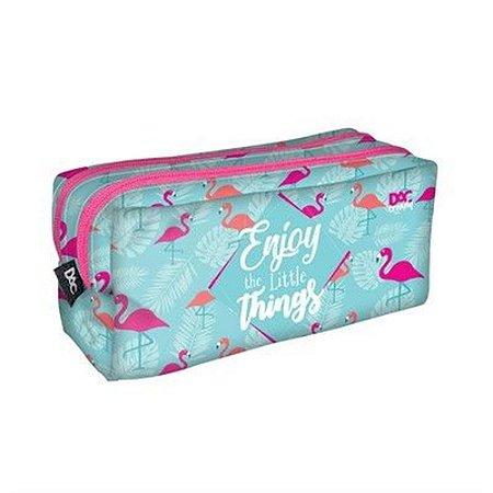 Estojo Duplo  Flamingo Dac