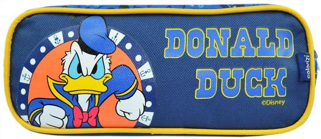 Estojo Disney Pato Donald - duplo