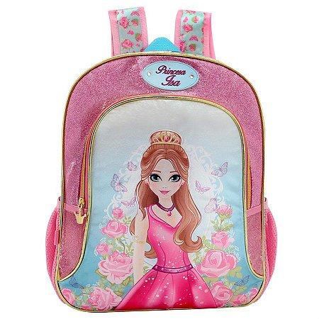 Mochila Escolar Princesa Isa Grande Colorizi