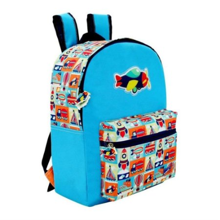 Mochila Infantil Masculina  Avião Westpack Adventure-COLORIZI KIDS