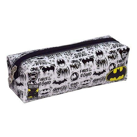 ESTOJO ESCOLAR DAC EM PVC CRISTAL BATMAN -