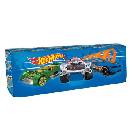 ESTOJO PLÁSTICO HOT WHEELS 185x65x28mm