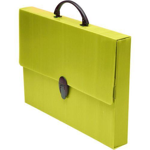 Maleta Escolar Polionda Amarela R/205 Polibras 280mmX379mmX45mm