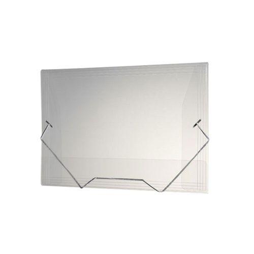 Pasta polipropileno Mini Transparente Dac 183mmX245mm - 500PP-TR