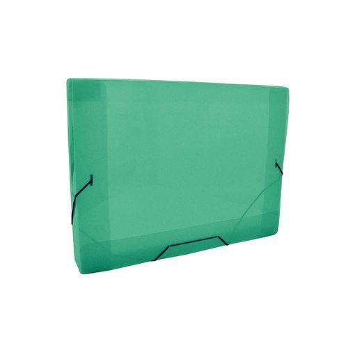 Pasta Aba Elástico Mini 2cm Dac Verde Transparente 183mmX245mm