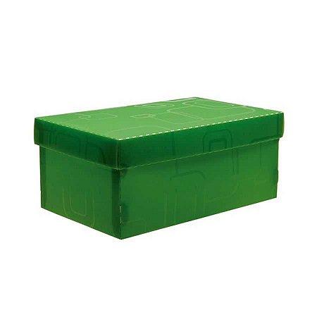 Caixa organizadora mini sapato - verde - 2169.T - Dello