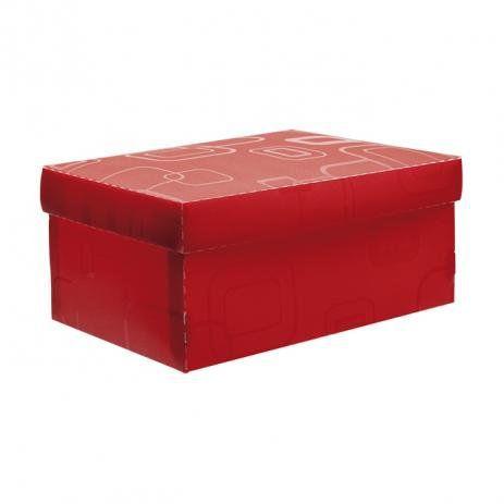 Caixa organizadora mini sapato - vermelho - 2169.U - Dello
